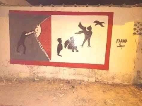 اقتلاع نباتات وتشويه لوحات : أعمال تخريب بعد حملة النظافة في نابل (صور)