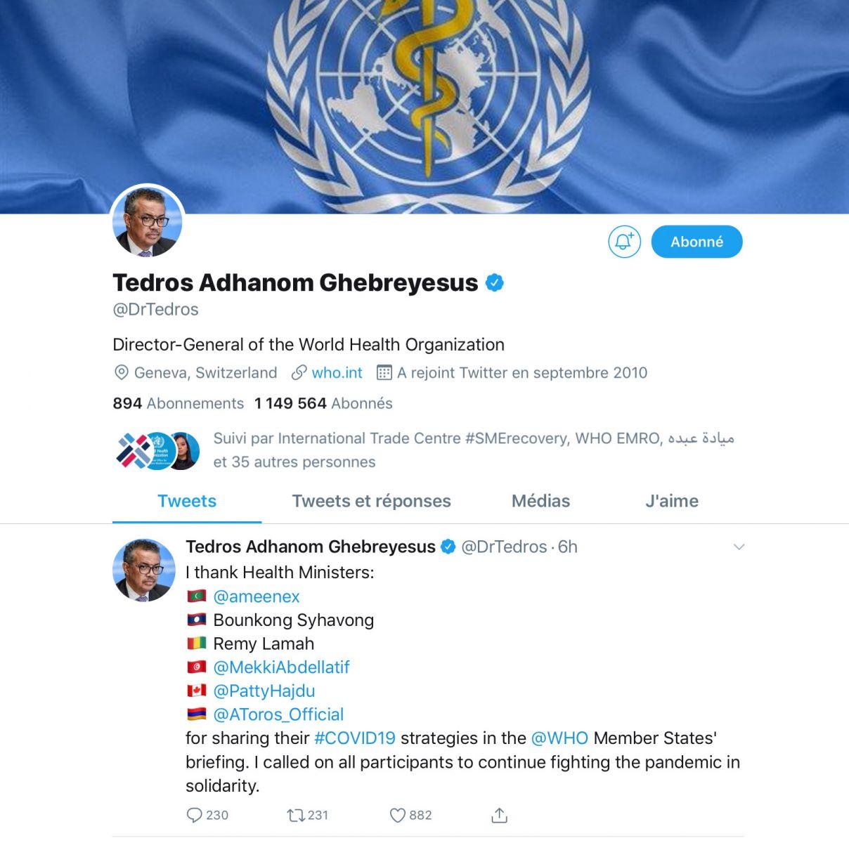 موقع وزارة الصحة تويتر