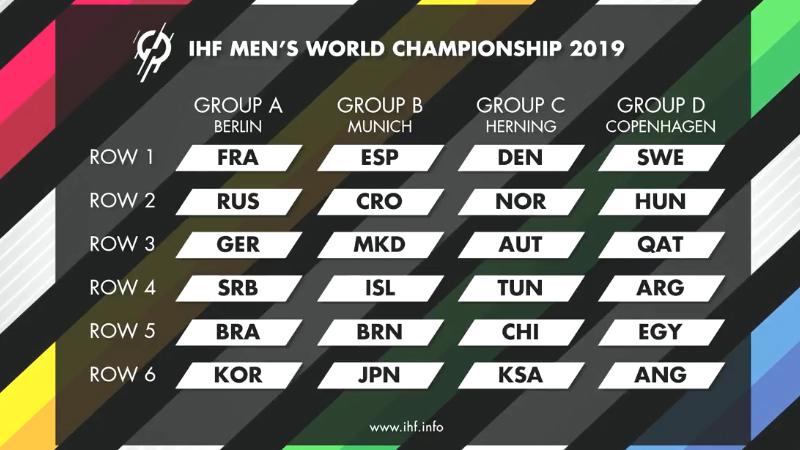 كاس العالم لكرة اليد بث مباشر