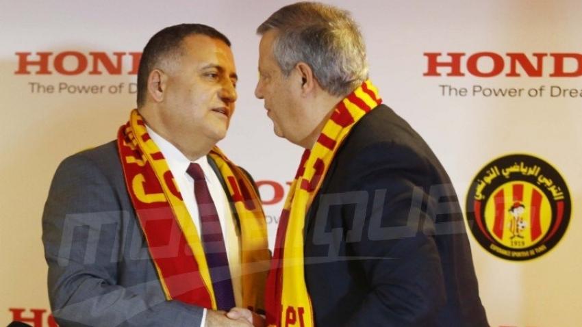 هوندا : حفل توقيع عقد دعم هوندا لنادي الترجي الرياضي التونسي