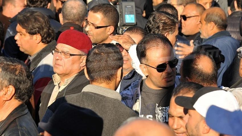 جنازة الفنان الهادي التونسي