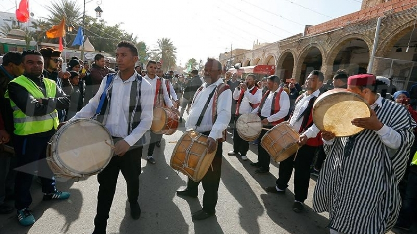 فعاليات إختتام المهرجان الدولي للواحات بتوزر في دورته 38