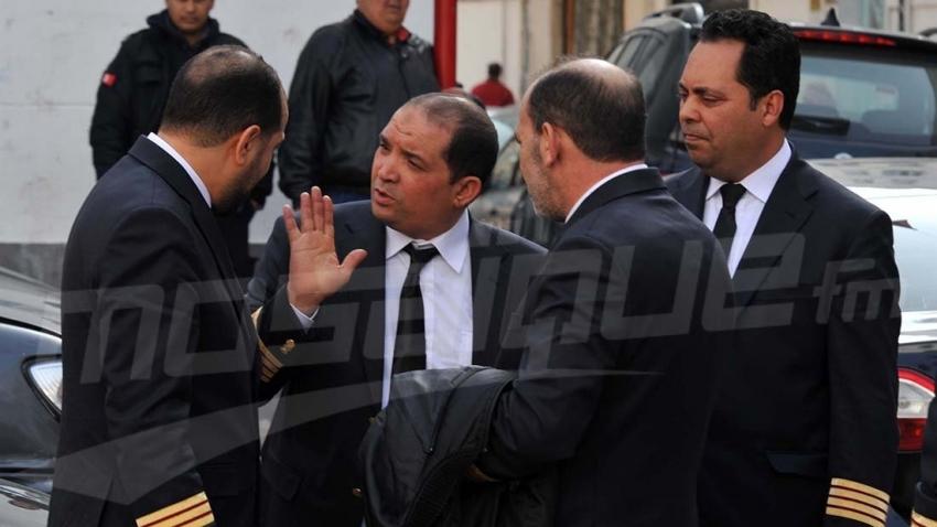 Marche protestataire des agents d'entretien de TunisAir