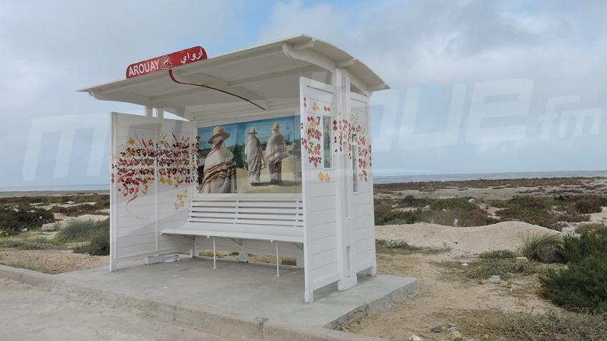Djerba: les habitants de la région de Ghizen transforment les stations en chefs d'œuvre