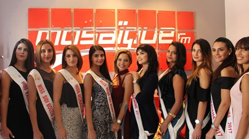 Les candidates à Miss Tunisie dans Chellet Amine