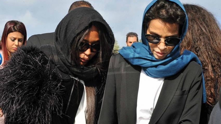 نجوم عالمية في جنازة عز الدين علية
