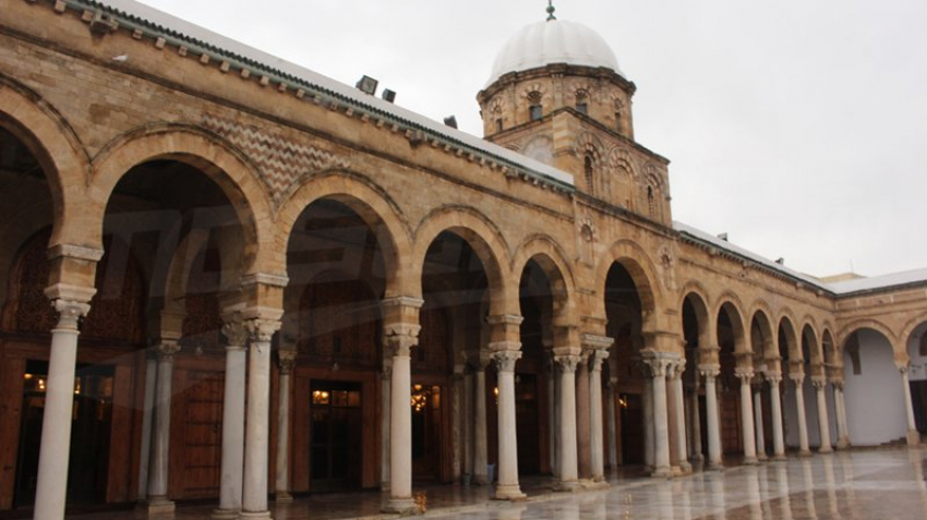 جامع الزيتونة أحد المعالم الإسلامية لتونس