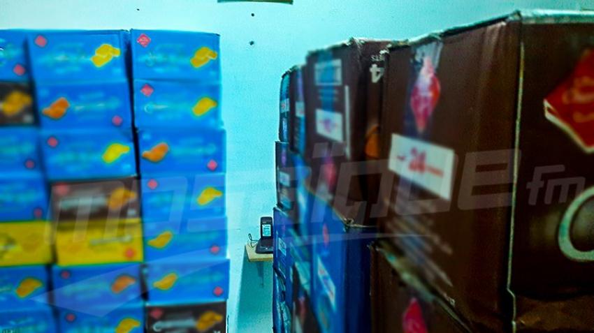 Sbitla : saisie de matériel de contrebande estimé à 500 mille dinars.