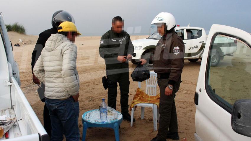 حملة مشتركة بين الحرس والشرطة في قمرت