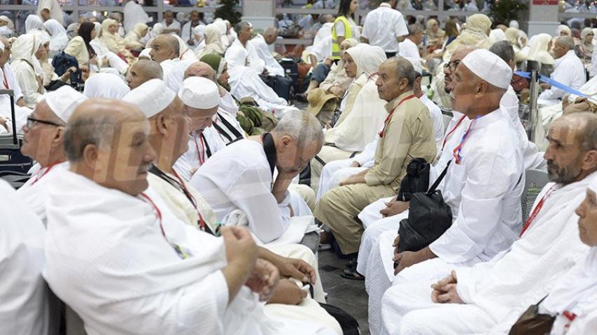 Départ de la délégation officielle pour les lieux sacrés