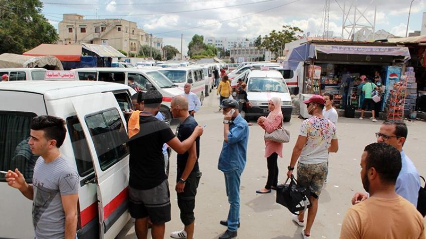 حركية ضعيفة للمسافرين في محطة النقل للشمال بباب سعدون
