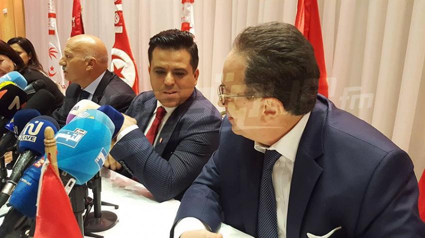 Conférence de presse conjointe de Nidaa Tounes et l'UPL sur la fusion des deux partis