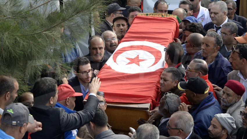 Funérailles de l'artiste Kacem Kefi