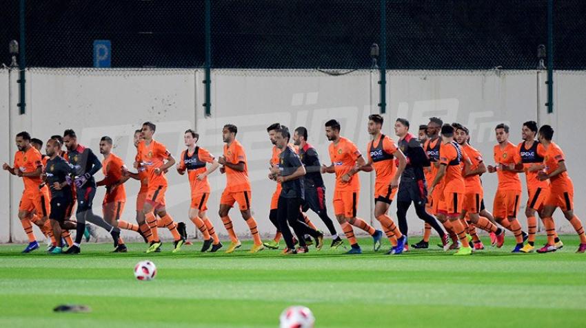مونديال الأندية: الحصة الأولى لتدريبات الترجي في أبو ظبي