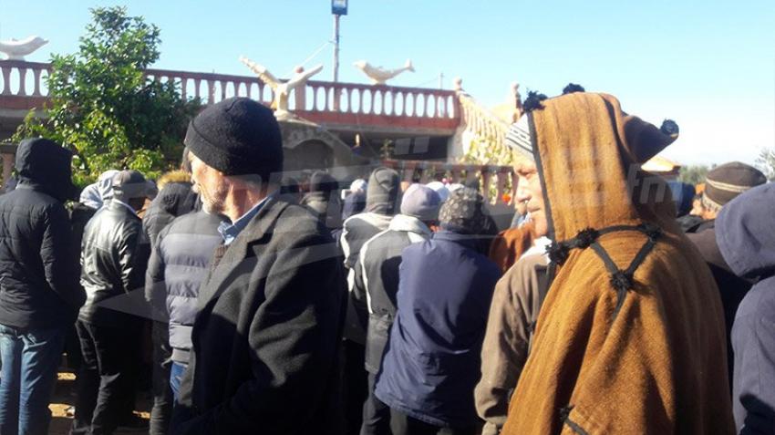 La maison du martyr Khaled Ghozlani à Djebel Mghilla