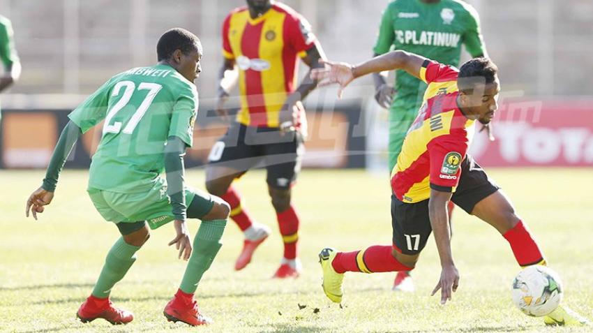 Ligue des champions: EST (2-0) Platinium