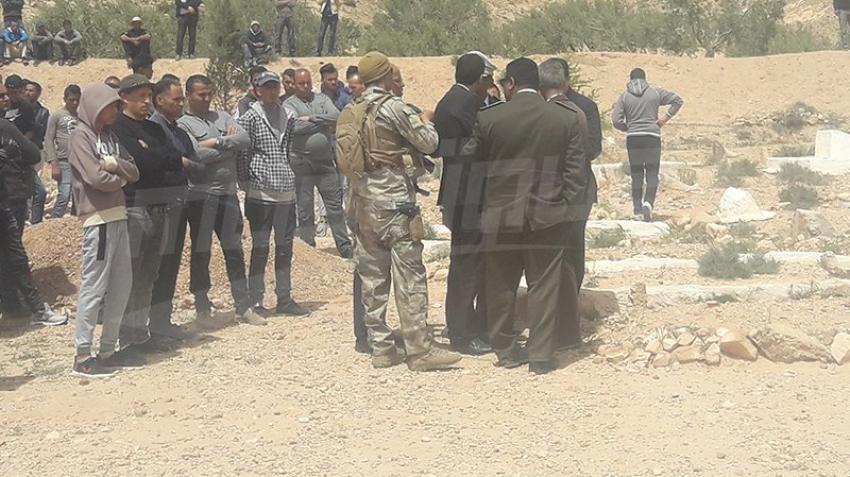 Le berger, Mokhtar Achour, enterré