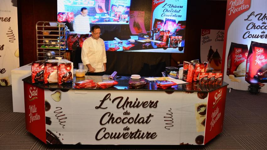 """النسخة الثالثة من """"عالم  chocolat de couverture """" : المغامرة تتواصل مع البطل """" Pascal Molines  """""""