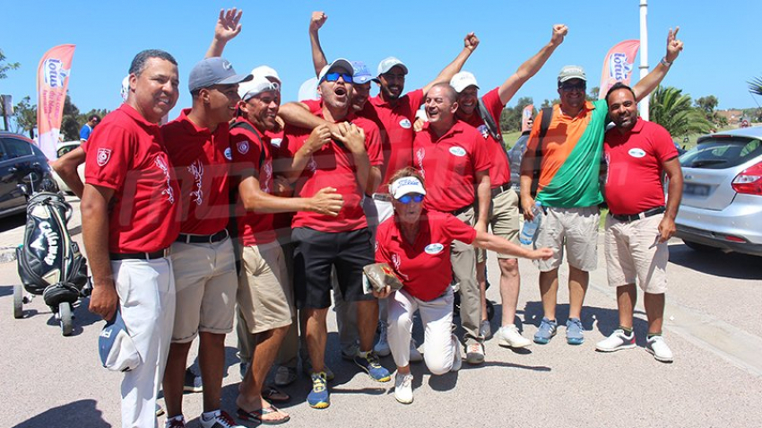 جمعية الغولف بالحمامات تفوز بكأس تونس