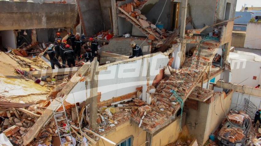 حي الزهور: انفجار منزلين بسبب تسرّب للغاز الطبيعي