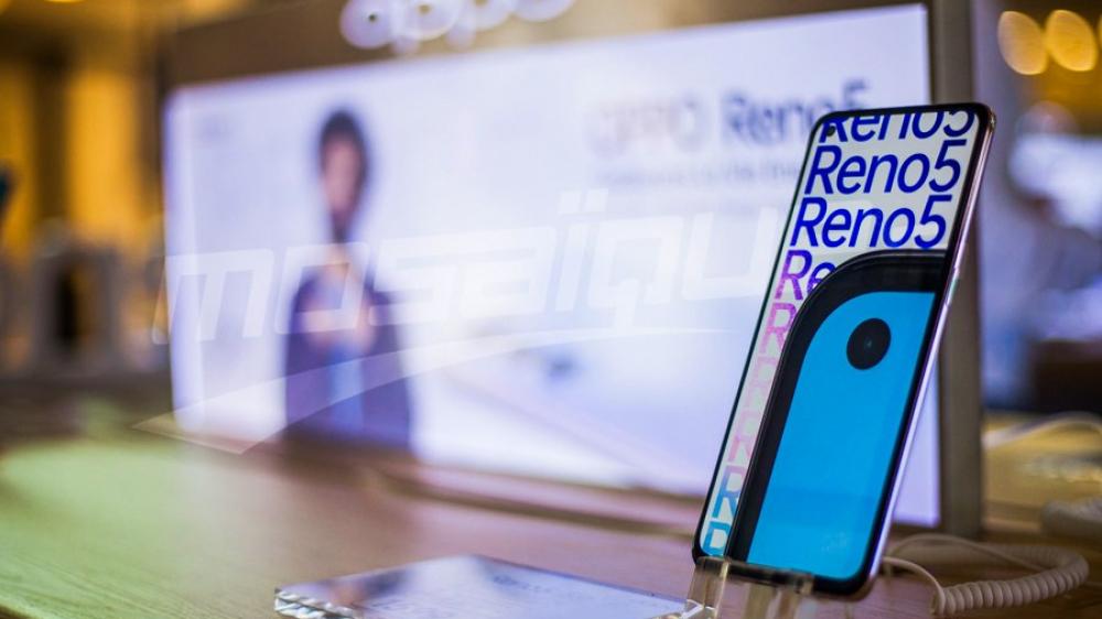 Carrefour La Marsa : الإنطلاق الرسمي ل Oppo رينو 5 | رينو 5 5G