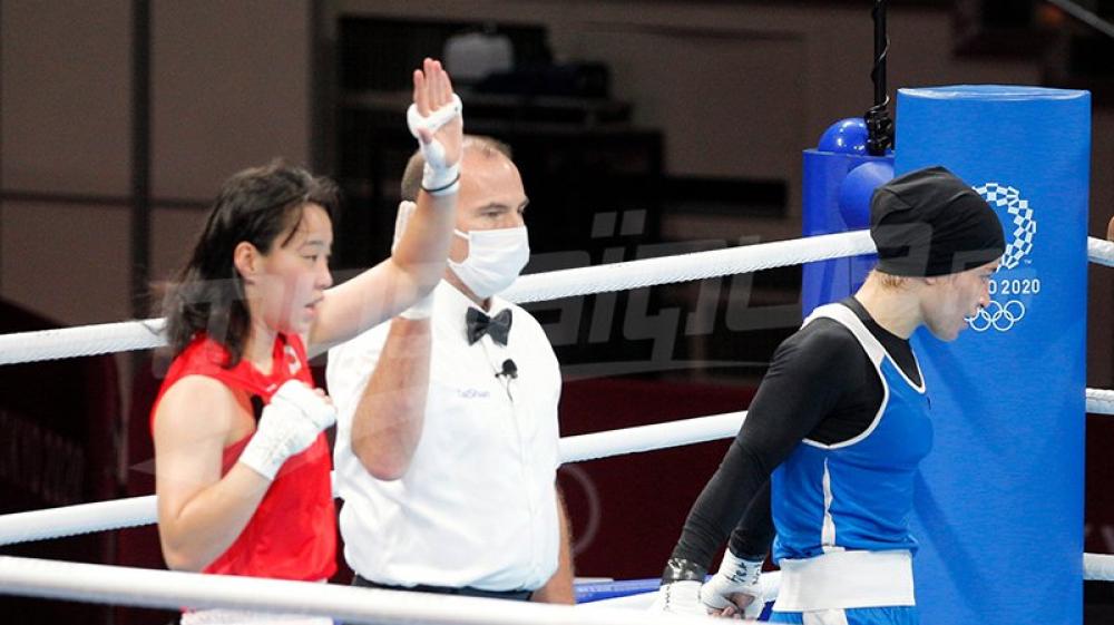 JO #Tokyo2020 : Khouloud Hlimi s'incline face à la Japonaise S.Irie