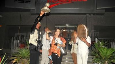 استقبال مميّز للطيفة العرفاوي في موزاييك