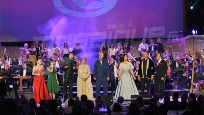 فن تونس: عرض يخلّد  60 سنة من الموسيقى التونسية في افتتاح مهرجان قرطاج 2017
