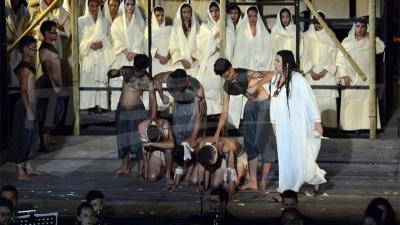 أوبرا عايدة في مسرح قرطاج