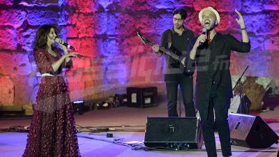 ياسمين علي وأبو على مسرح قرطاج