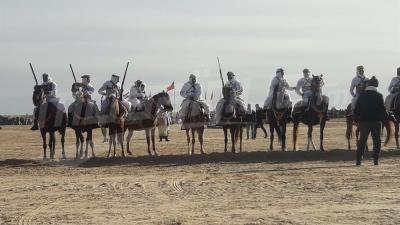 إنطلاق الدورة 51 لمهرجان الصحراء بدوز