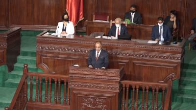 جلسة منح الثقة لحكومة المشيشي المقترحة