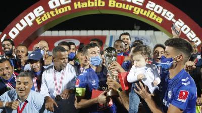 الإتحاد المنستيري يتوج بكأس تونس لأول مرة في تاريخه