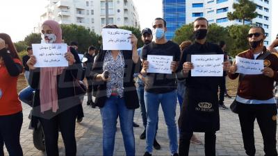 Lac : Les employés des cafés et des restaurants protestent