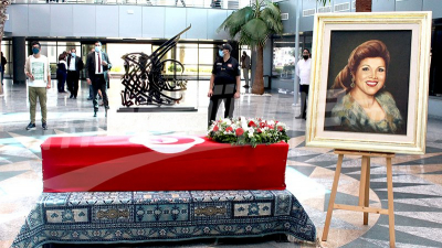 Hommage à Naâma à la cité de la culture de Tunis