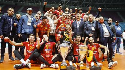 الترجي يُحرز لقب كأس تونس في الكرة الطائرة