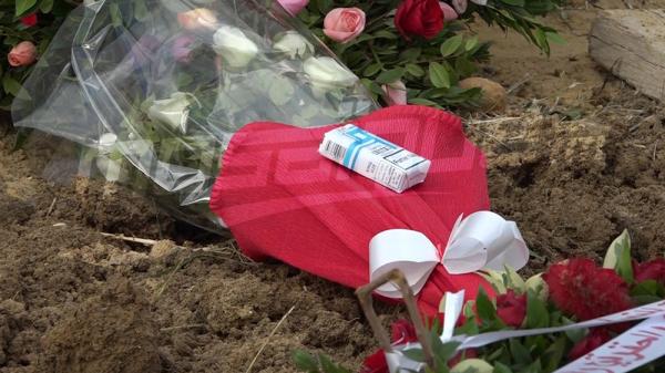 مقبرة بورجل: جثمان جيلبار نقاش يوارى الثرى بالمربع الخاص بالمفكرين