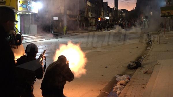 حي التضامن: مواجهات ضارية بين المحتجين و الأمن