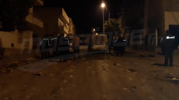القصرين:مواجهات ليلية في حي الزهور