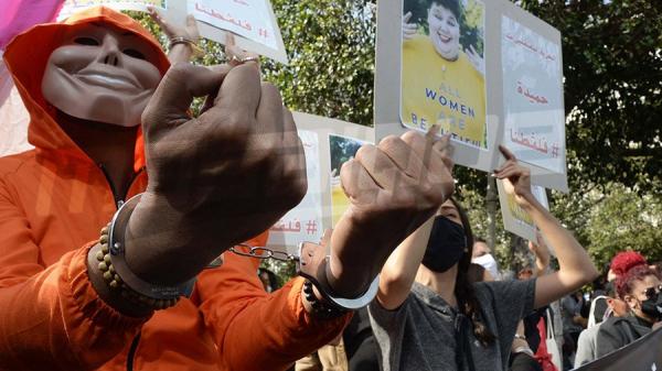 وقفة احتجاجيّة في شارع الحبيب بورقيبة تحت شعار ''أطلقوا سراح تونس''