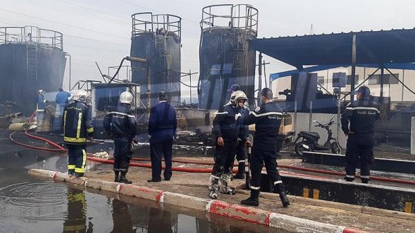 قابس: انفجار صهريج في معمل الأسفلت