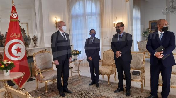 رئيس الدولة في زيارة لفرنسا للمشاركة فى قمة تمويل الاقتصاديات الإفريقية