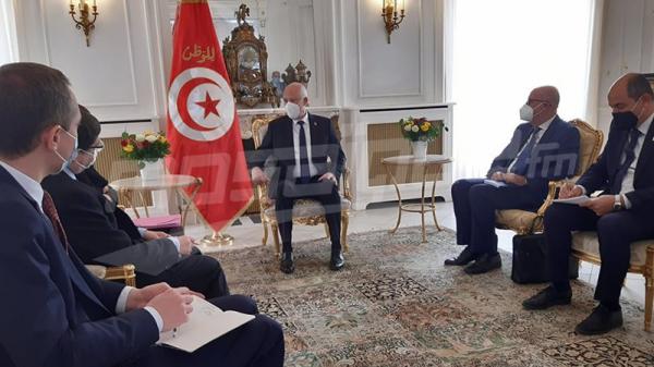قمّة باريس: قيس سعيّد يُجري سلسلة من اللقاءات