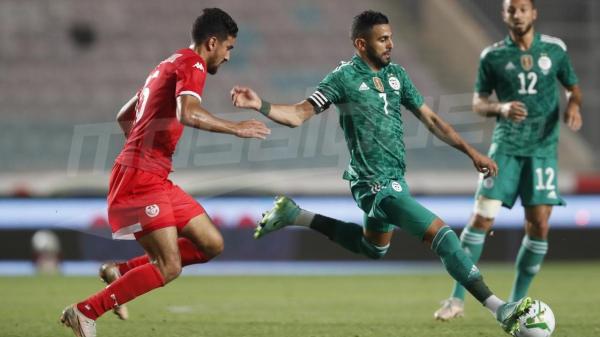 لقاء ودي: المنتخب التونسي( 0-2  ) الجزائر