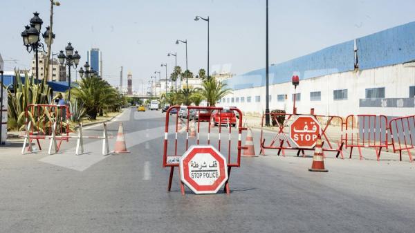 Les unités sécuritaires veillent à l'application du confinement général à la capitale