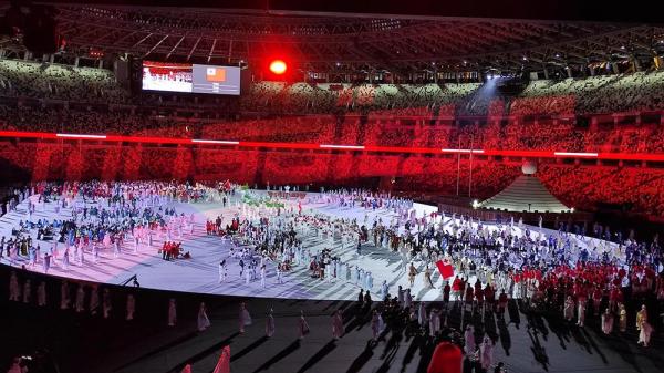 JO #Tokyo2020 : La cérémonie d'ouverture