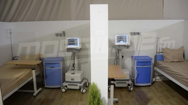 La Manouba: Inauguration de l'hôpital de campagne à l'Institut Kassab