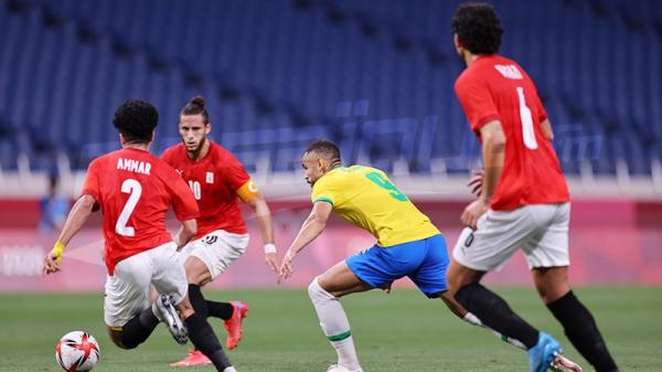 JO #Tokyo2020 : الألعاب الأولمبية: البرازيل (1-0) مصر