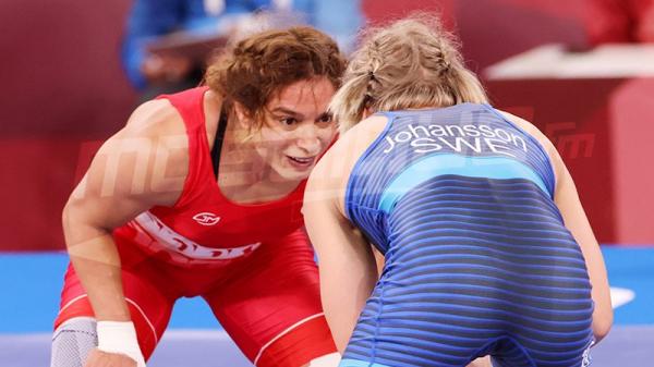 JO #Tokyo2020 : مروى العمري تنهزم أمام السويدية آنا جوهانسون