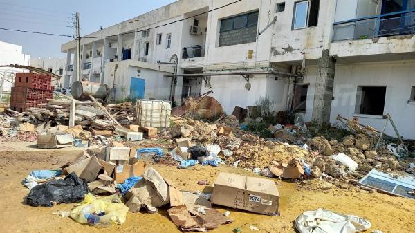 القيروان:الحشرات والأوساخ والفضلات تحتل مستشفى ابن الجزار